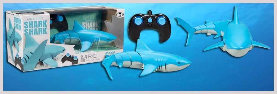 Se den nye hotte fjernstyrede haj her