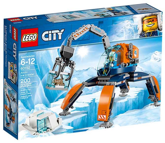 Lego 60192 Polar Iskravler Lego City Alt I Legdk