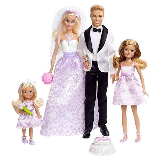 Barbie Bryllups Sæt