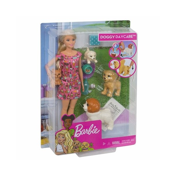 Barbie Hunde Pensionat med Renligheds Træning