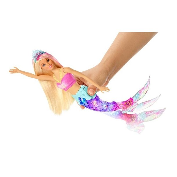 Barbie Dreamtopia Havfrue med Lys