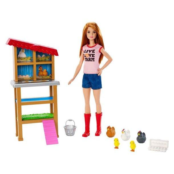 Barbie Kyllinge Farmer
