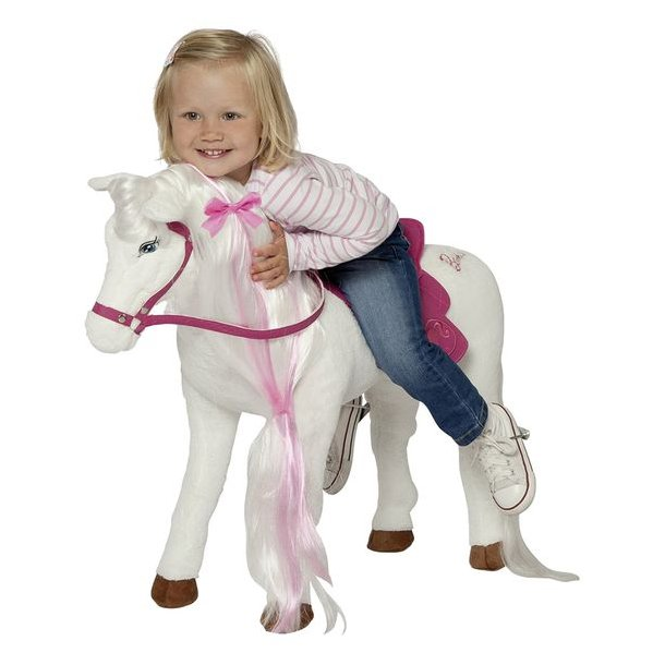 Barbie Bamse Hest Man Kan Sidde På