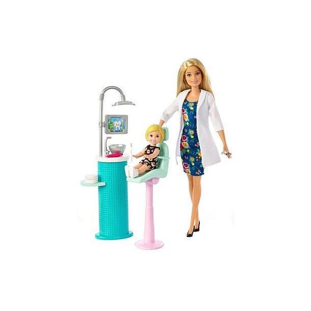 Barbie Tandlæge Sæt