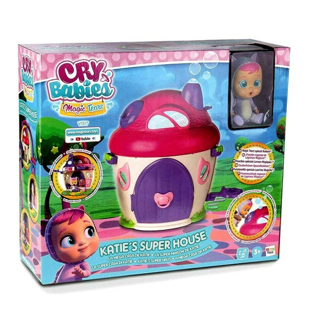 Cry Babies Playset - Katie's Super Hus