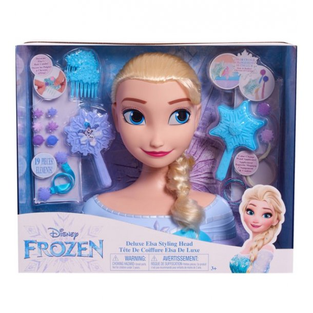 Disney Frost Deluxe Elsa Styling Hoved