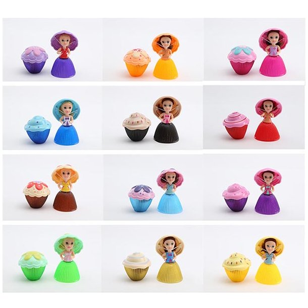 CupCake Surprise Dukke Princess
