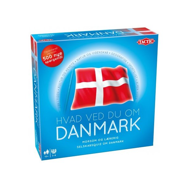 Brætspil : Hvad ved du om Danmark