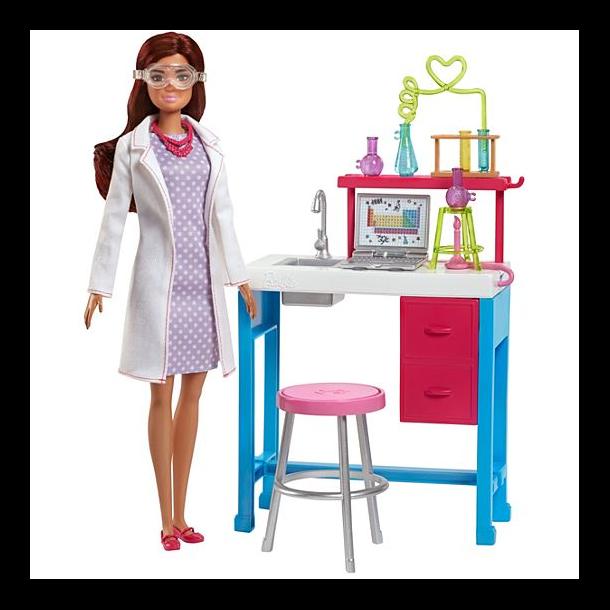 Barbie Experiment Bord
