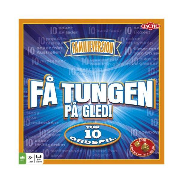 Brætspil : Få Tungen på Gled (ÅRETS FAMILIE SPIL 2