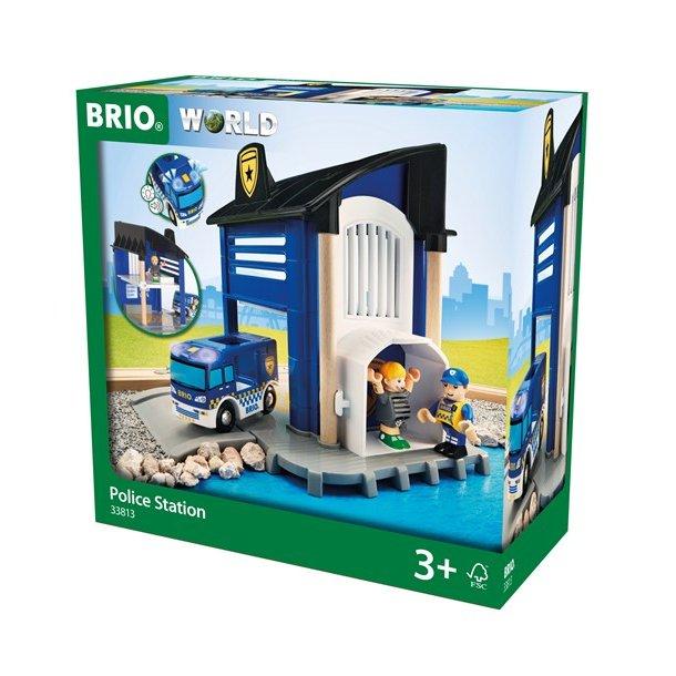 Brio Tog Politi Station