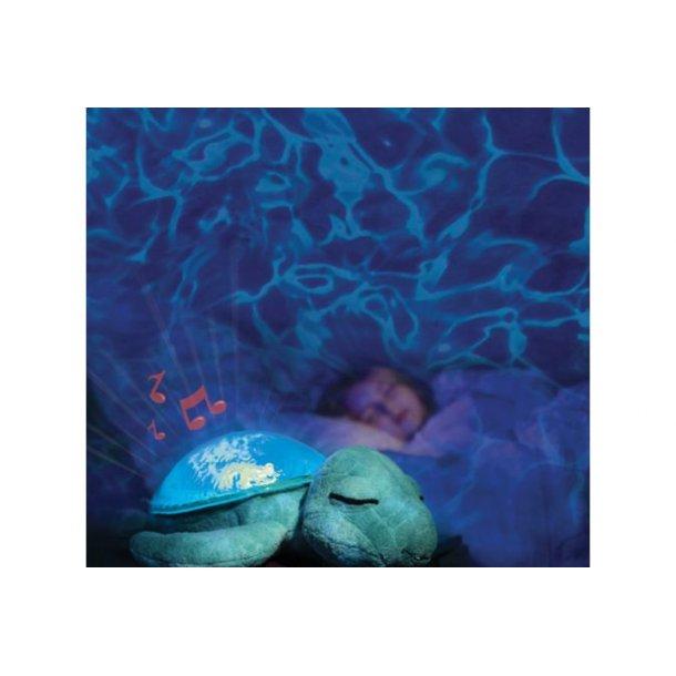 Cloud-B Skildpadde Blå Tranquil m.lyd & Lys som ha
