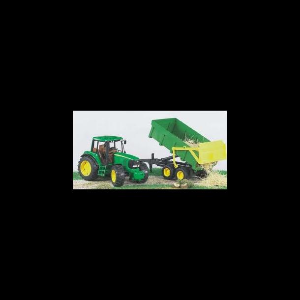 Bruder John Deer Traktor m.Anhænger