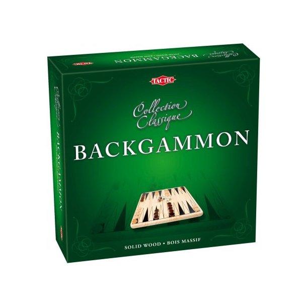 Backgammon i Træ
