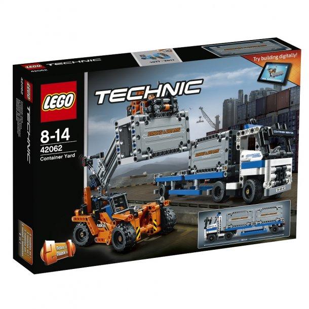 lego technic 42062 containertransport lego technic alt. Black Bedroom Furniture Sets. Home Design Ideas