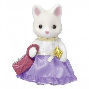 e677d127348 Sylvanian Families Town Silke Cat Dame