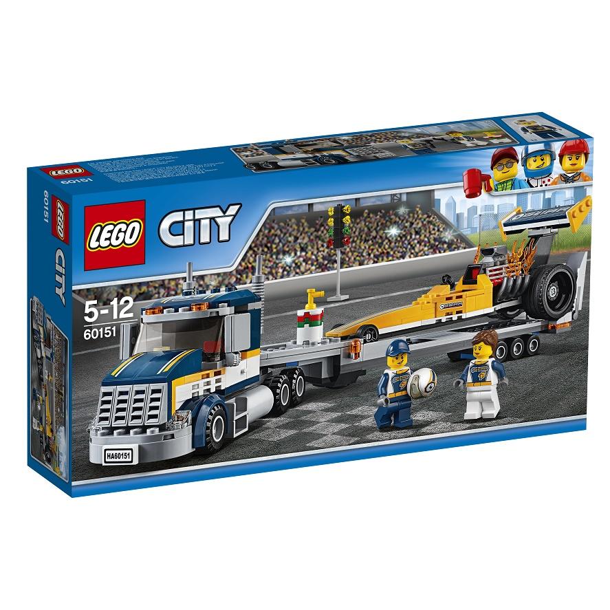 Lego City 60151 Dragstertransport Lego City Alt I Legdk