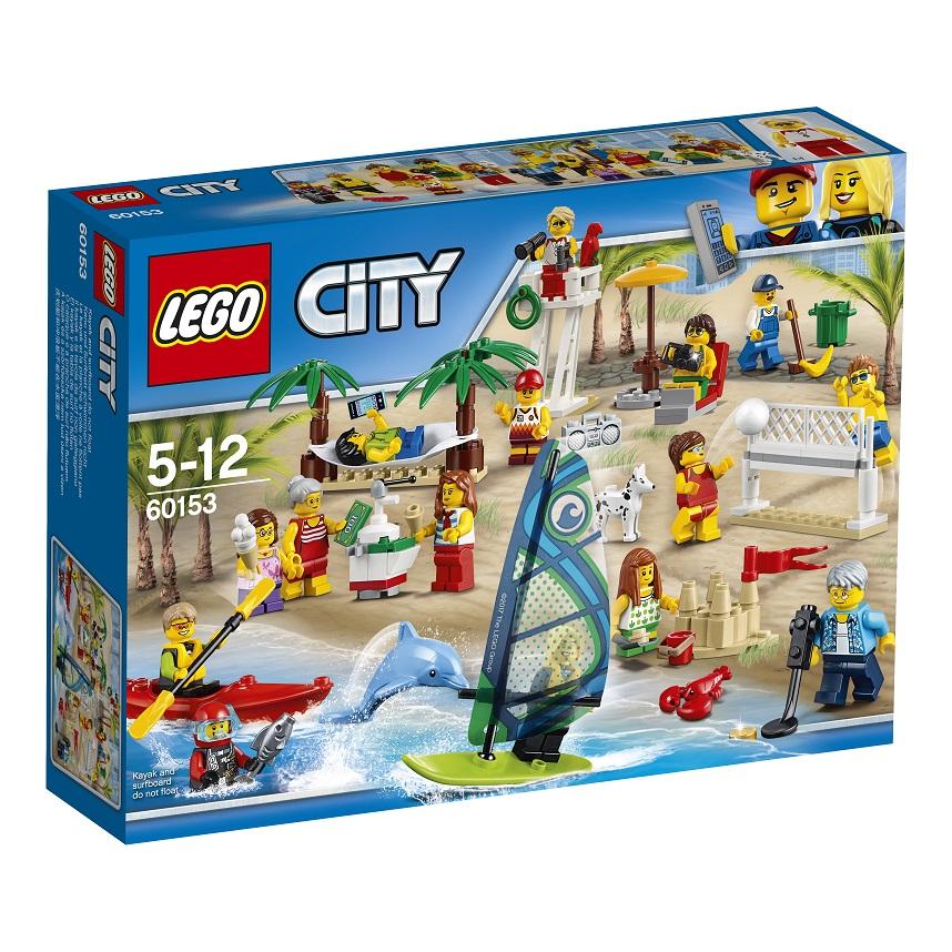 Lego City 60153 Sjov Ved Stranden Lego City Alt I Legdk