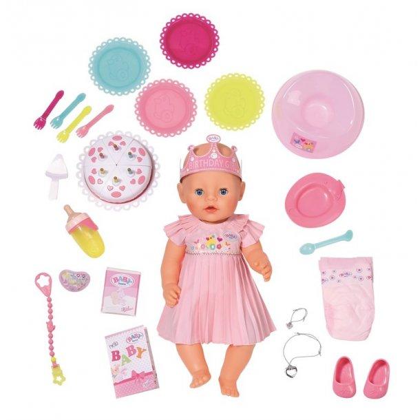 Baby Born Fødselsdags Dukke