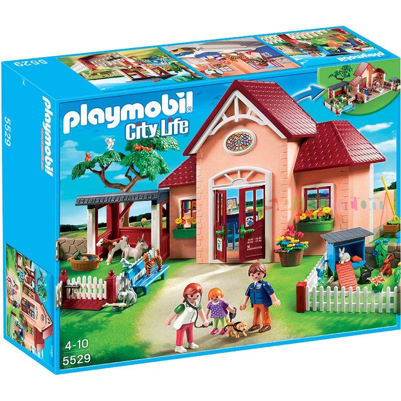 Fin Playmobil 5529 Dyrlæge Klinik - Playmobil - Alt i Leg.dk UA-61