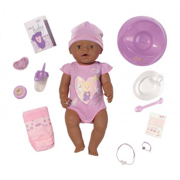 Baby Born Dukke Mørk