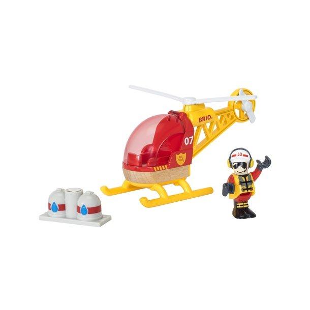 Brio Tog Brand Rednings Helikopter