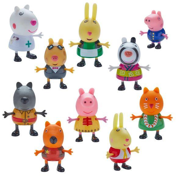 Gurli gris figur pakke 10 pak gurli gris alt i - Jeux de papa pig ...