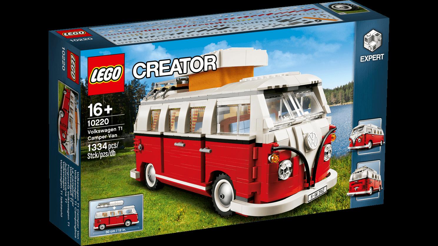 lego 10220 exclusives volkswagen autocamper lego. Black Bedroom Furniture Sets. Home Design Ideas