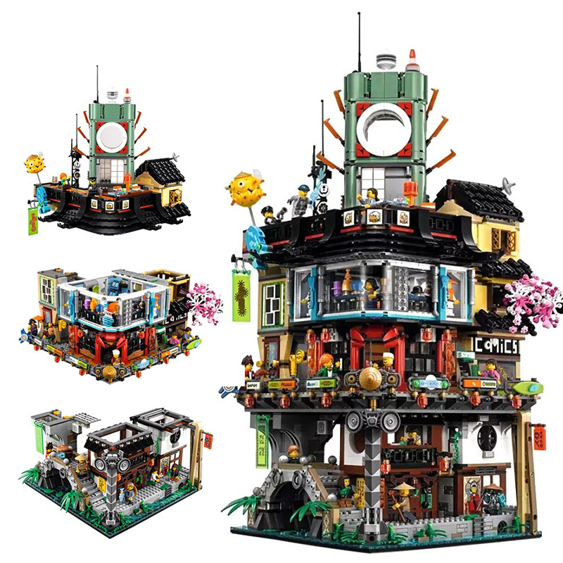 Lego 70620 Ninjago City Exclusive Lego Ninjago Alt I Legdk