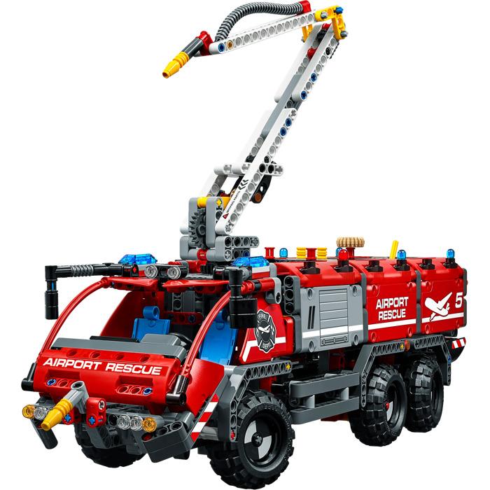 lego technic 42068 lufthavnsredningsvogn lego technic. Black Bedroom Furniture Sets. Home Design Ideas
