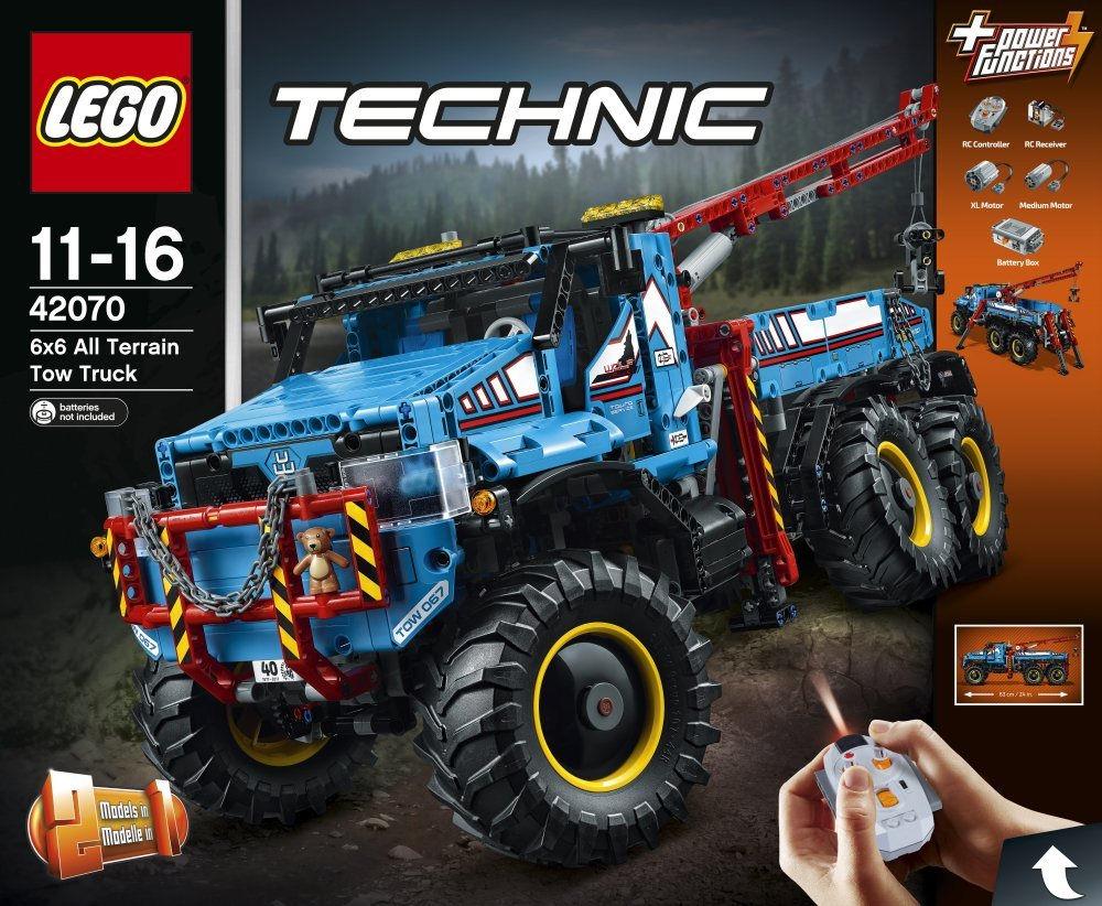 a28865f05fb Lego Technic 42070 Sekshjulet Terrængående Kranvog - Lego Technic ...