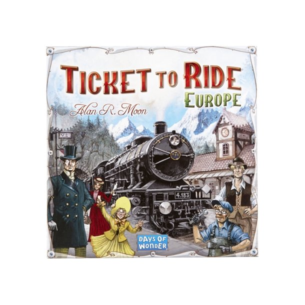 Brætspil Ticket To Ride Europe